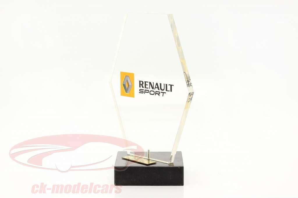 Trofeo ganador Clasificación del equipo fórmula Renault 2.0 2005 SL Formula Racing