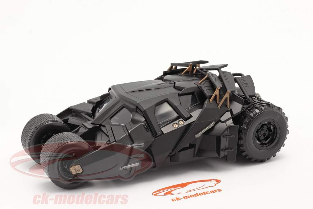 Batimóvil Película The Dark Knight (2008) negro 1:24 Jada Toys