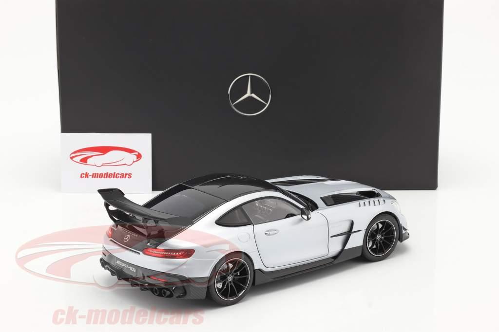 Mercedes-Benz AMG GT (C190) Black Series 2020 hightech zilver 1:18 Norev