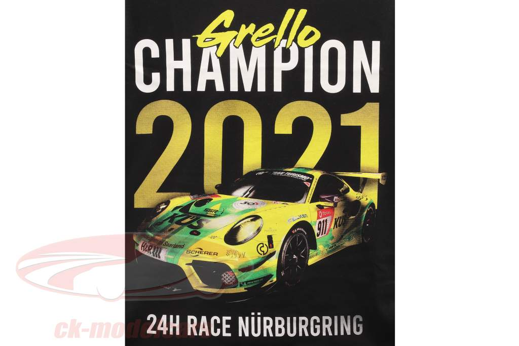 Manthey Racing Grello T-Shirt kampioen 24h Nürburgring 2021