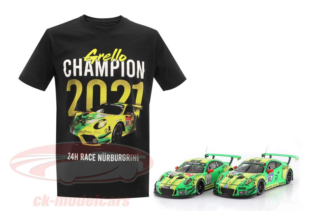 Manthey Racing Grello T-Shirt campione 24h Nürburgring 2021