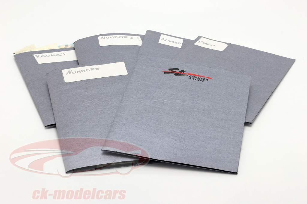 Set di adesivi formula Renault 2.0