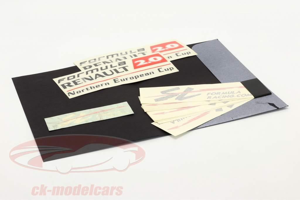 Sticker sæt formel Renault 2.0