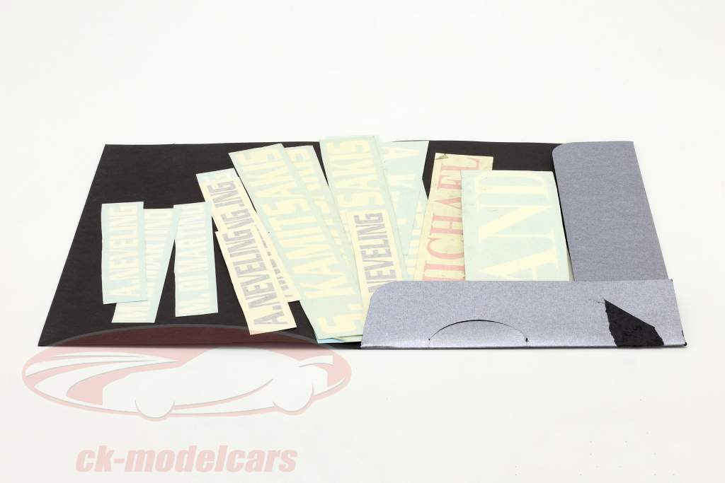 Sticker set formula Renault 2.0