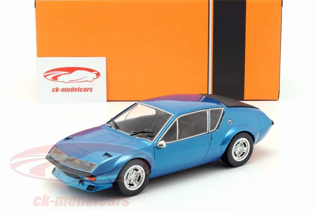 Alpine Renault A310 Anno di costruzione 1974 blu metallico 1:18 Ixo / 2. scelta