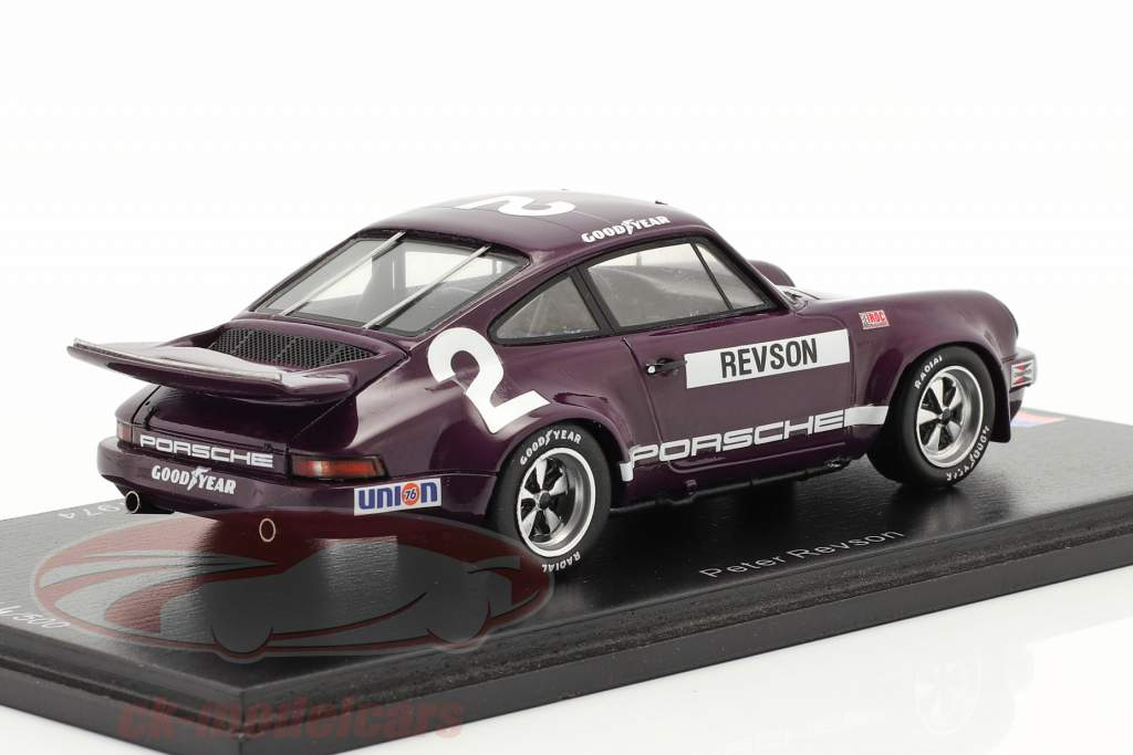 Porsche RS 3.0 #2 2do IROC Daytona 1974 P. Revson 1:43 Spark