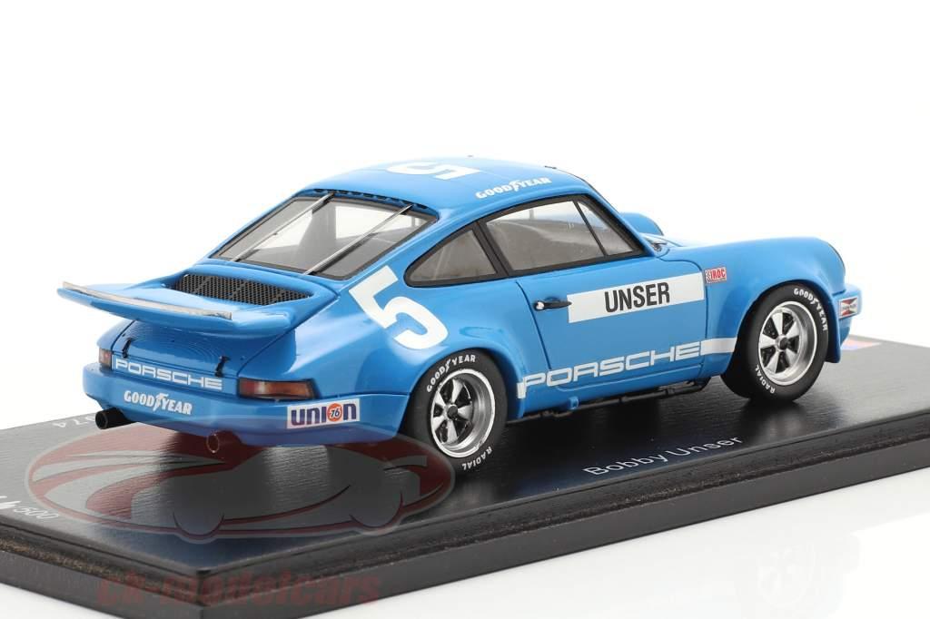 Porsche RS 3.0 #5 3° IROC Daytona 1974 B. Unser 1:43 Spark