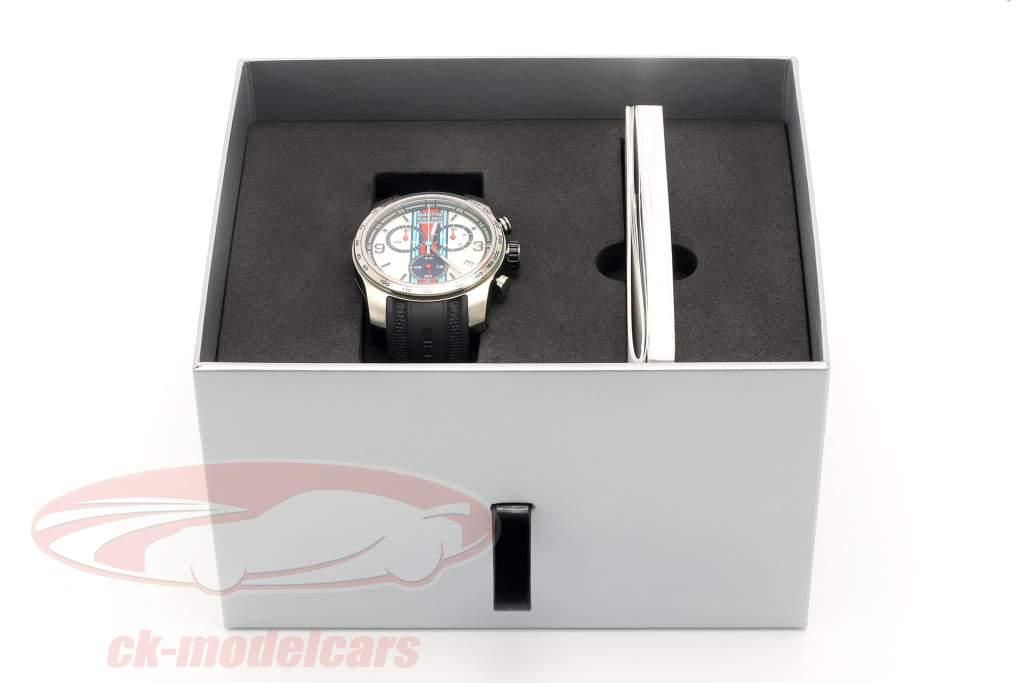 Porsche Sport Armbanduhr / Chronograph Martini Racing
