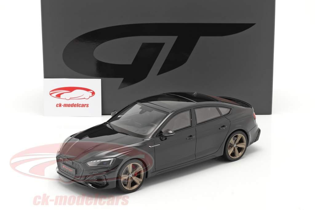 Audi RS5 (B9) Sportback Baujahr 2020 schwarz 1:18 GT-SPIRIT