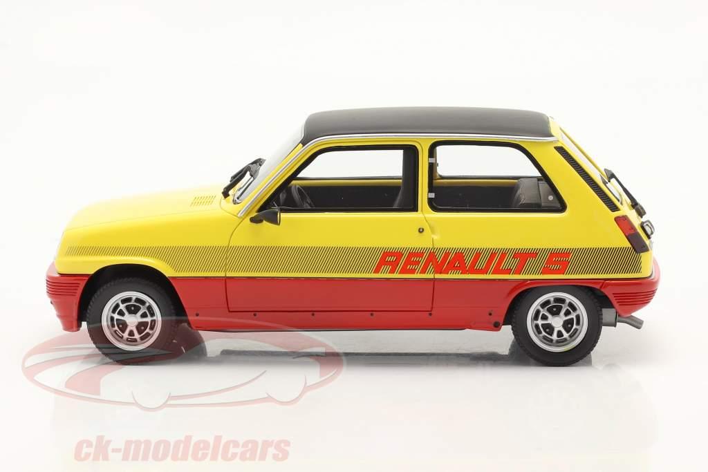 Renault R5 TS Montecarlo Baujahr 1978 rot / gelb / schwarz 1:18 OttOmobile