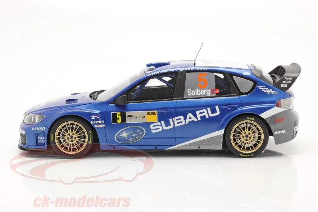 Subaru Impreza S14 WRC #5 Rallye Alemania 2008 Solberg, Mills 1:18 OttOmobile