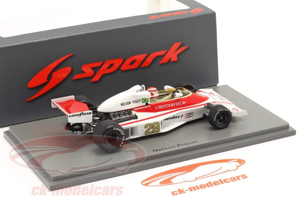 Nelson Piquet McLaren M23 #29 Østrig GP formel 1 1978 1:43 Spark