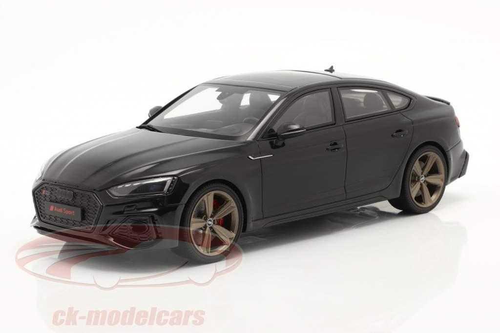 Audi RS5 (B9) Sportback Ano de construção 2020 Preto 1:18 GT-SPIRIT