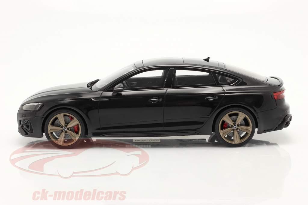 Audi RS5 (B9) Sportback Année de construction 2020 noir 1:18 GT-SPIRIT