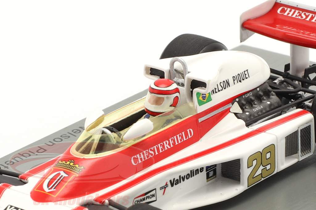 Nelson Piquet McLaren M23 #29 Oostenrijk GP formule 1 1978 1:43 Spark