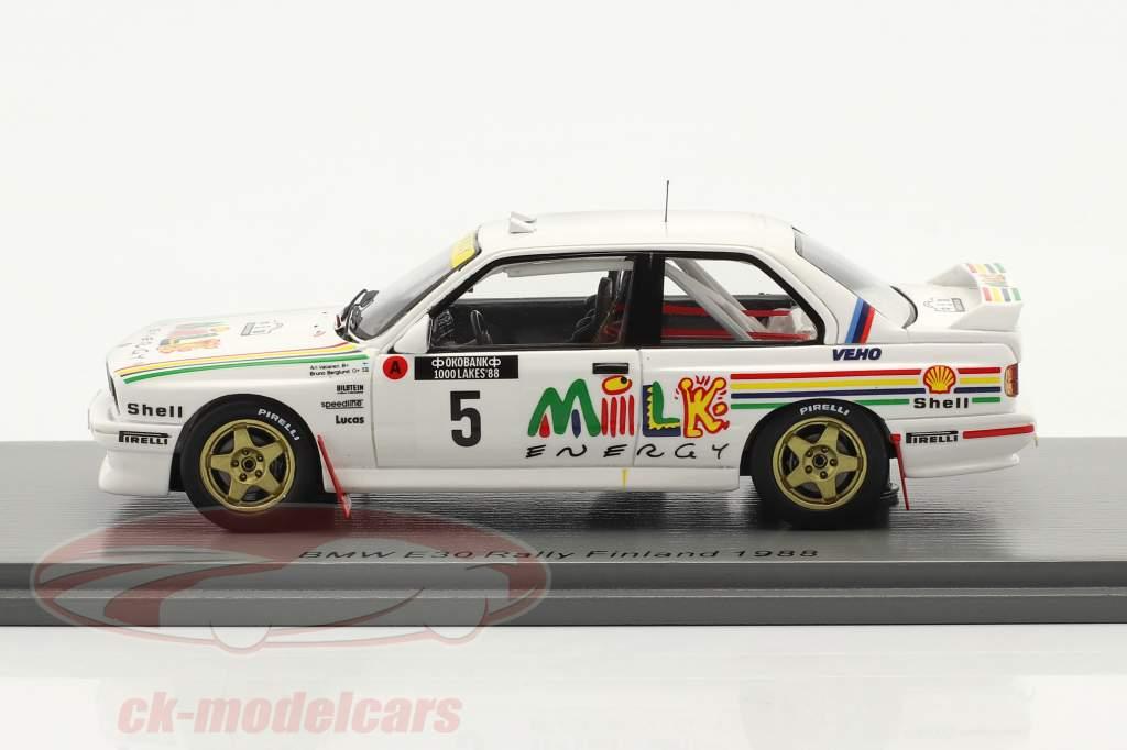 BMW M3 (E30) #5 1000 Lakes Rallye Finnland 1988 Vatanen, Berglund 1:43 Spark