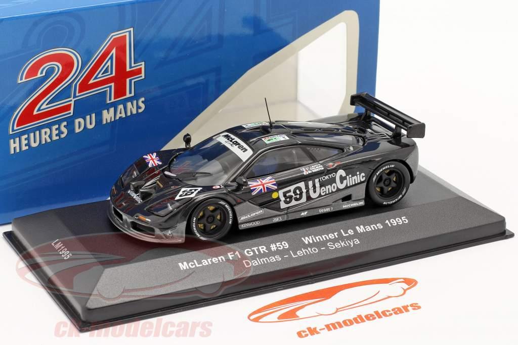 McLaren F1 GTR #59 Winner Le Mans 1995 1:43 Ixo
