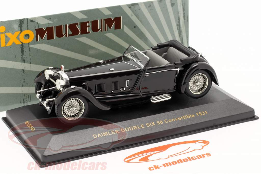 Daimler Double Six 50 Año 1931 schwarz / negro 1:43 Ixo