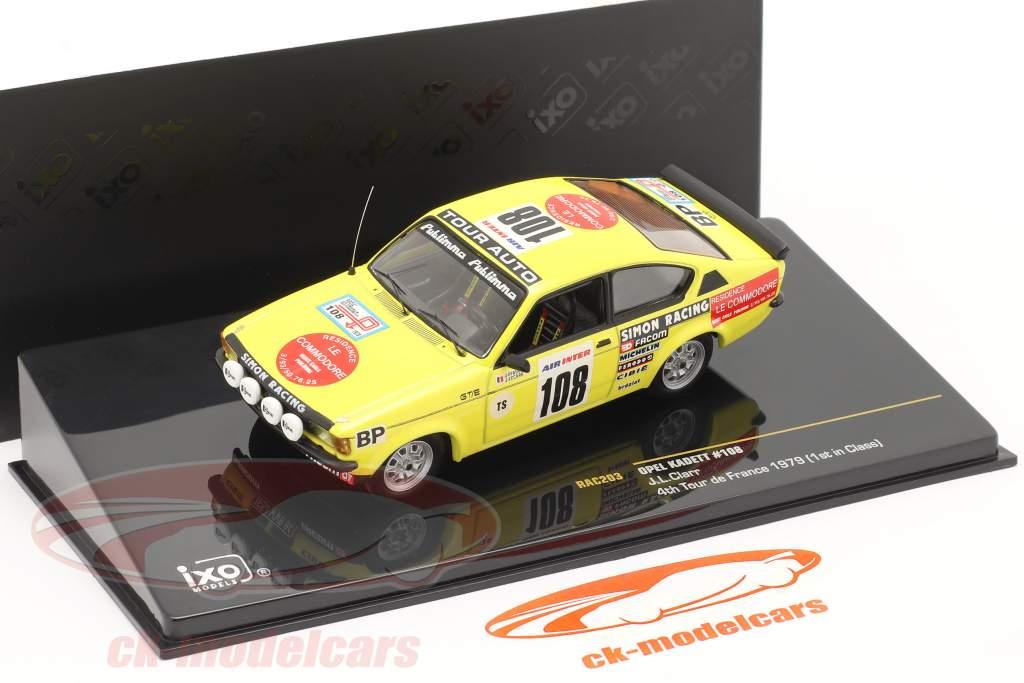 Opel Kadett #108 J.L. Clarr 4 ° viaggio de Francia 1979 1:43 Ixo