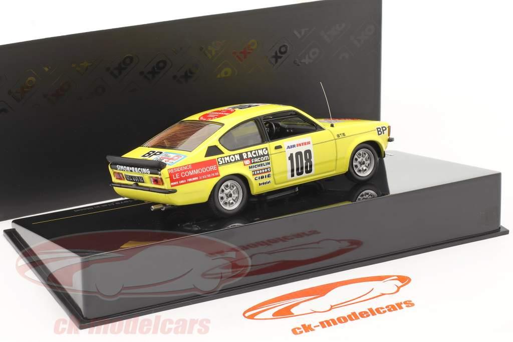 Opel Kadett #108 J.L. Clarr 4th Tour de France 1979 1:43 Ixo
