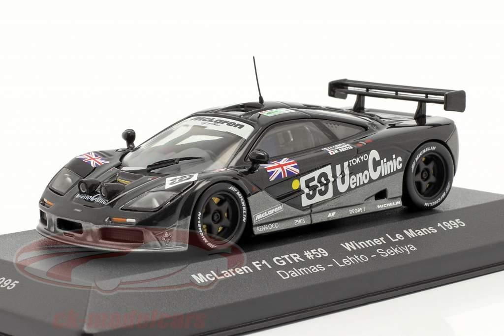 McLaren F1 GTR #59 Ganador LeMans 1995 1:43 Ixo