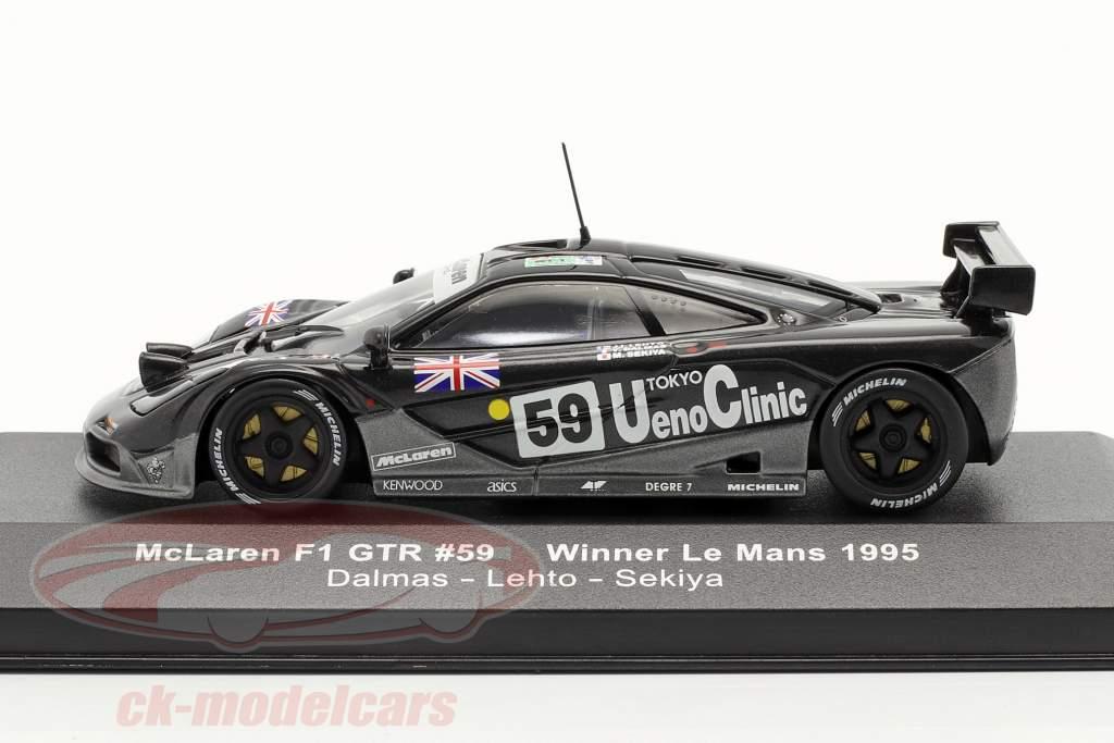 McLaren F1 GTR #59 Winnaar LeMans 1995 1:43 Ixo