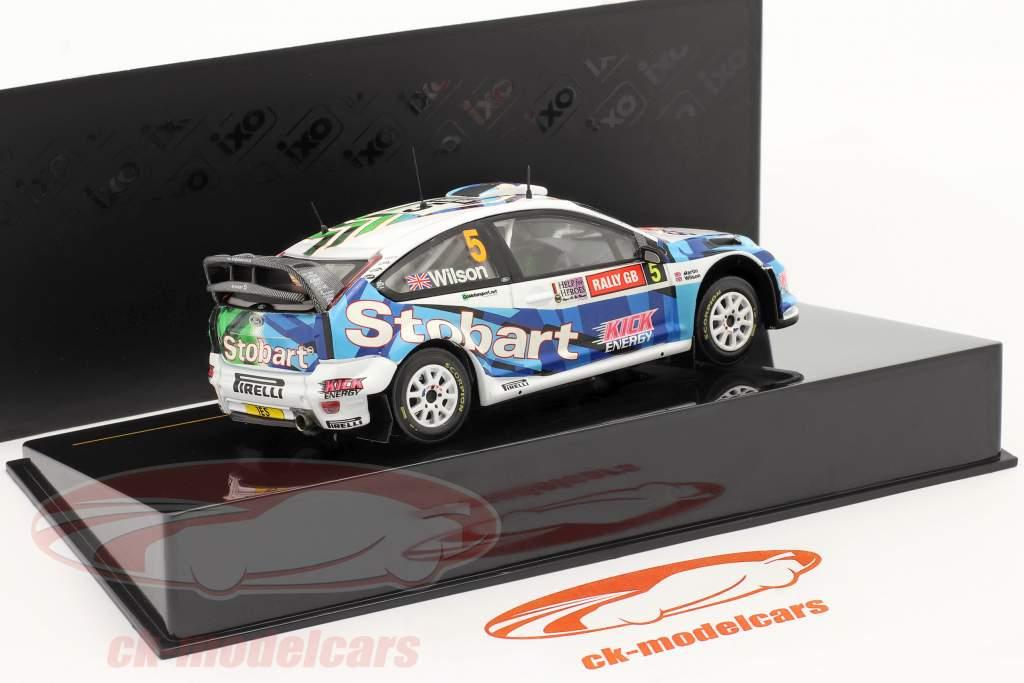 Ford Focus RS WRC 08 #5 Wilson, Martin Gales Rally GB 2009 una y cuarenta y tres Ixo