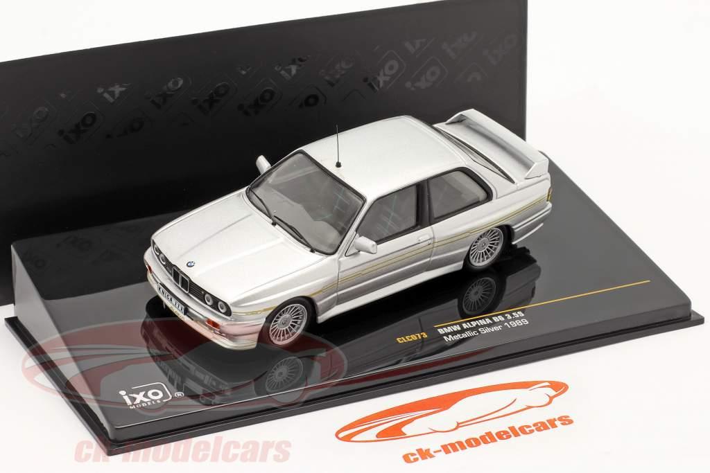 BMW Alpina B6 3.5S anno 1989 argento metallizzato / argento metallizzato 1:43 Ixo