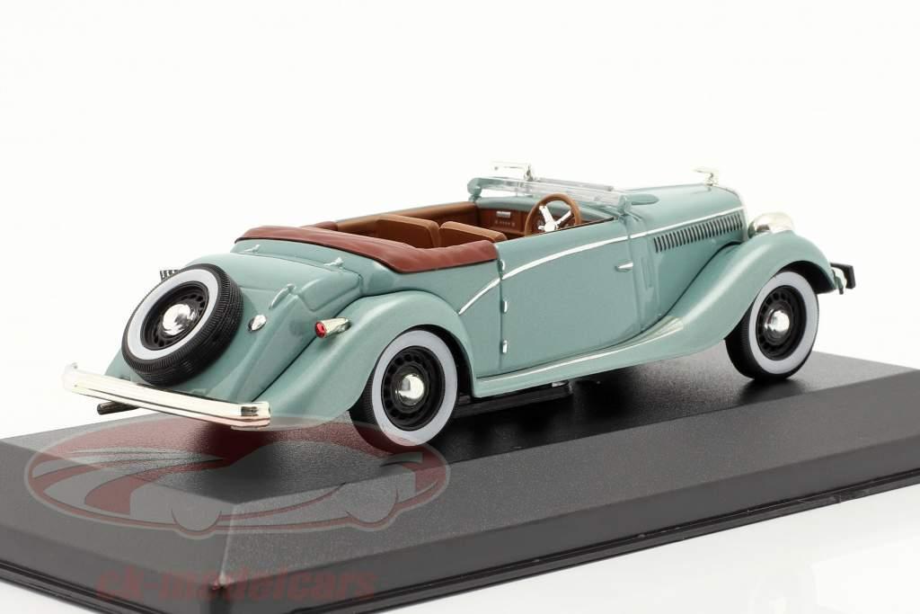 Salmson S4E año 1938 verde metálico 1:43 Ixo