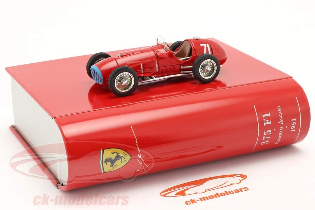 A. Ascari Ferrari 375 Alemão GP Nürburgring Fórmula 1 1951 1:43 Ixo