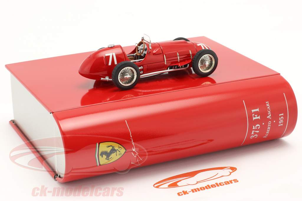 A. Ascari Ferrari 375 Allemand GP Nürburgring Formule 1 1951 1:43 Ixo