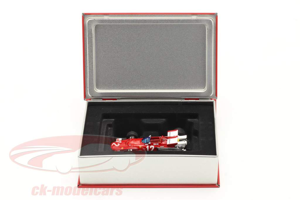 Jacky Ickx Ferrari 312B #12 Ganador austriaco GP fórmula 1 1970 1:43 Ixo