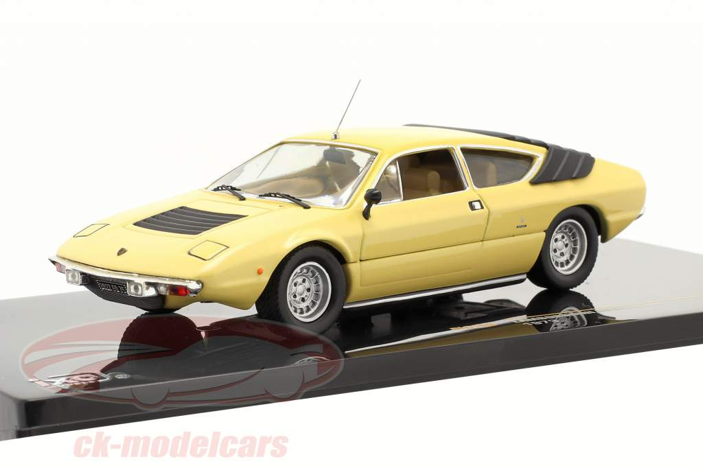 Lamborghini Urraco P250 1973 1:43 amarillo claro Ixo