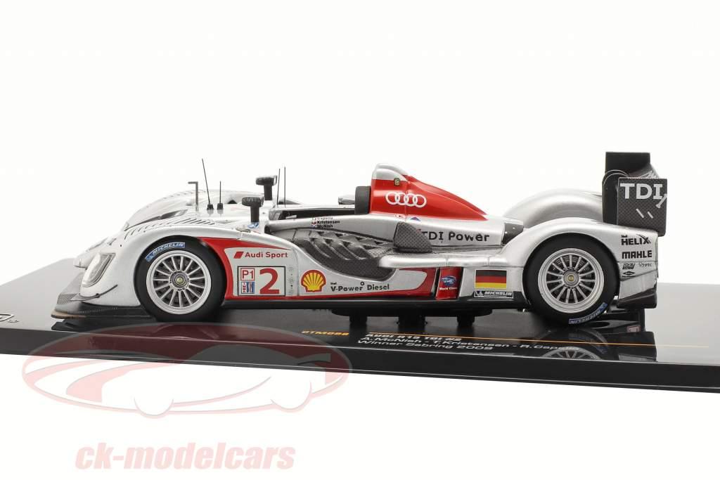 Audi R15 TDI #2 McNish, Kristensen, Capello Winner 12h Sebring 2009 1:43 Ixo