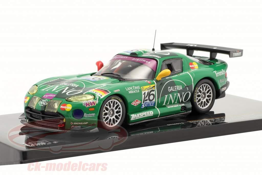 Dodge Viper GT-R #126 Galeria Inno Lamy Mollekens 24h Spa 2003 1:43 Ixo