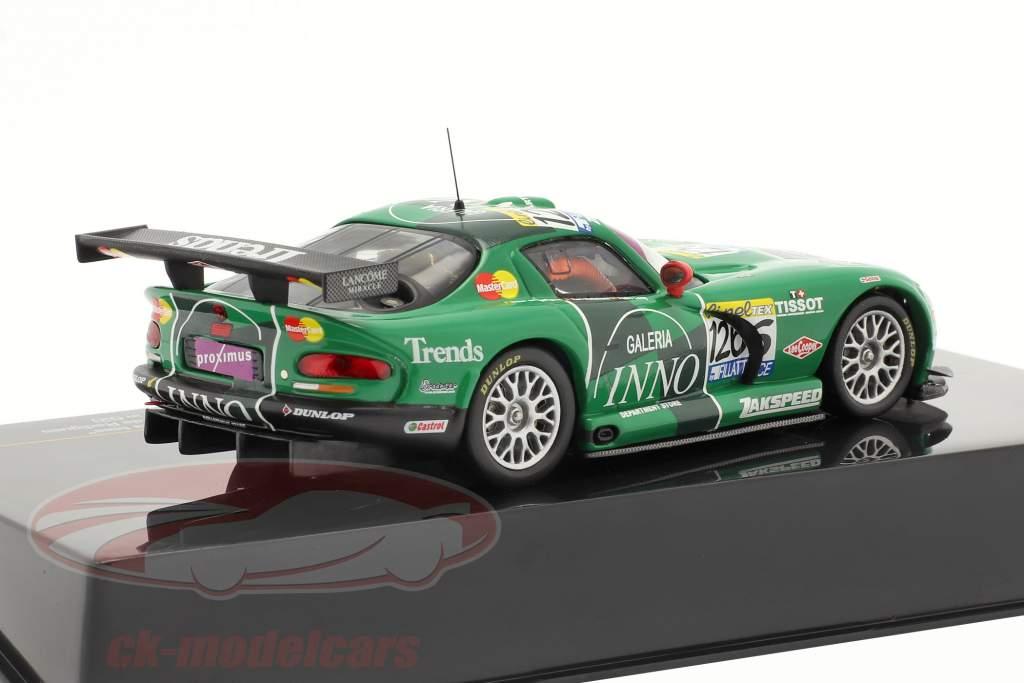"""Dodge Viper GT-R #126 """"Galeria Inno"""" Lamy Mollekens 24h Spa 2003 1:43 Ixo"""