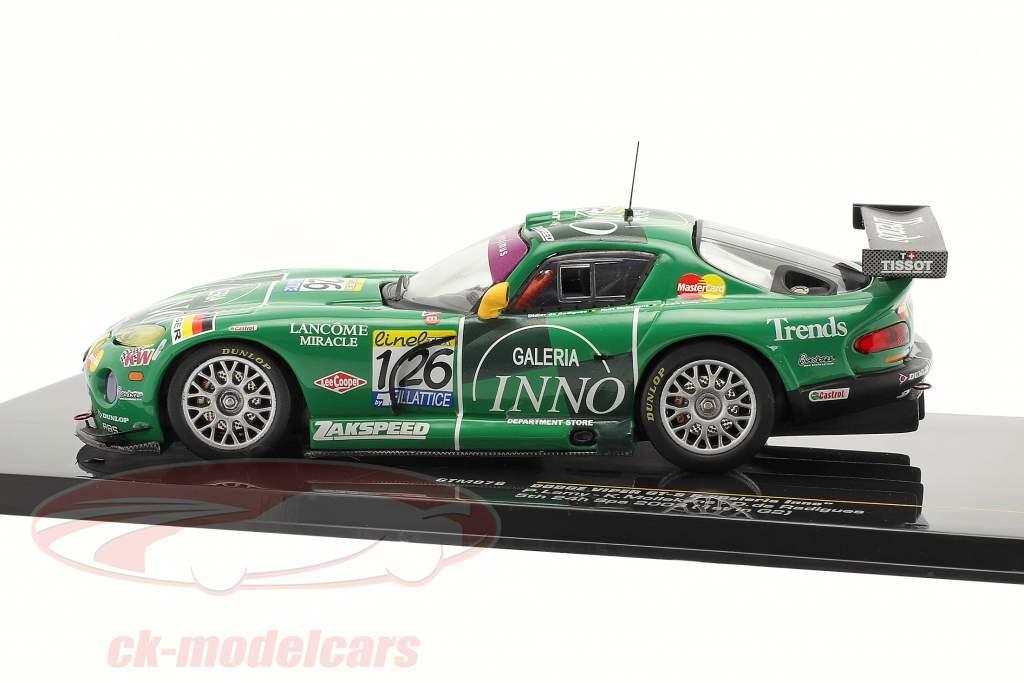 "Dodge Viper GT-R º 126 ""Galeria Inno"" Lamy Mollekens 24h Spa 2003 1:43 Ixo"