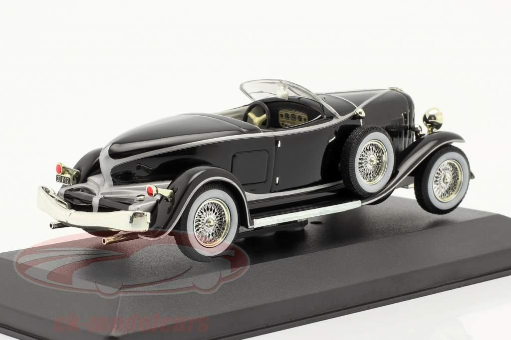 Auburn Boat cauda Roadster Bj 1933 Preto / black 1:43 Ixo