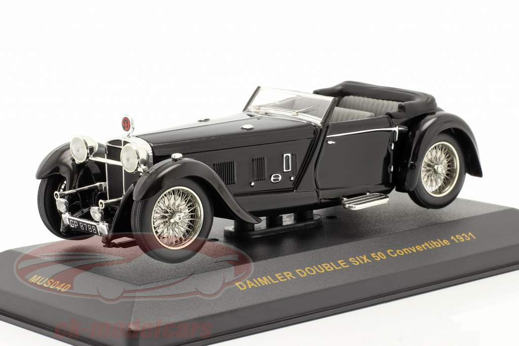Daimler Double Six 50 Bj. 1931 schwarz / black 1:43 Ixo