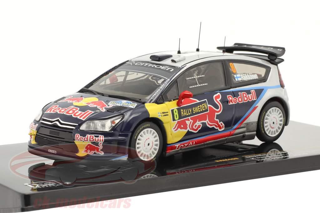 Citroen C4 WRC #8 Raikkonen, Lindstrom Svedese Rally 2010 1:43 Ixo