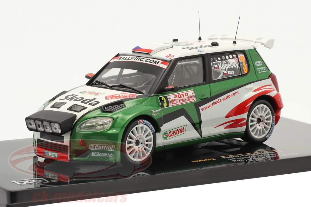 Kopecky Skoda Fabia S2000 N° 3, Stray Rallye Monte-Carlo 2010 1:43 Ixo