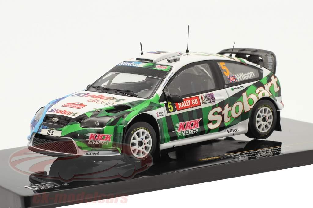 Ford Focus RS WRC 08 #5 Wilson, Martin Pays de Galles GB Rally 2009 1:43 Ixo