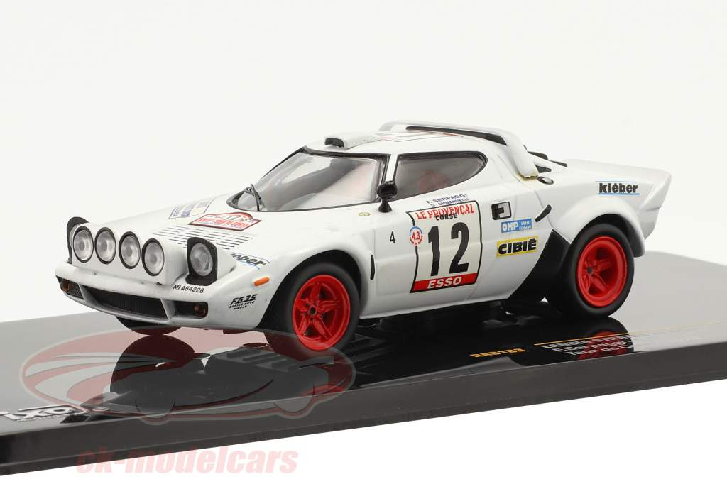 Lancia Stratos HF #12 Serpaggi, Emmanuelli Tour de Corse 1979 1:43 Ixo