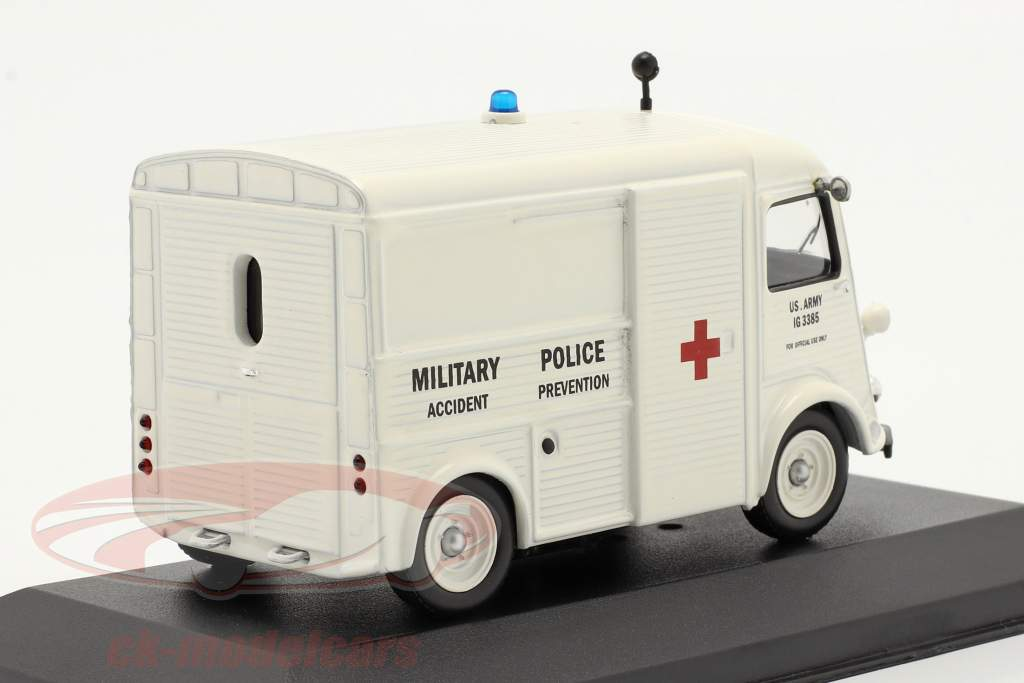 Citroën Tipo H Año 1967 los EE.UU. Ejército Ambulancia 1:43 Ixo