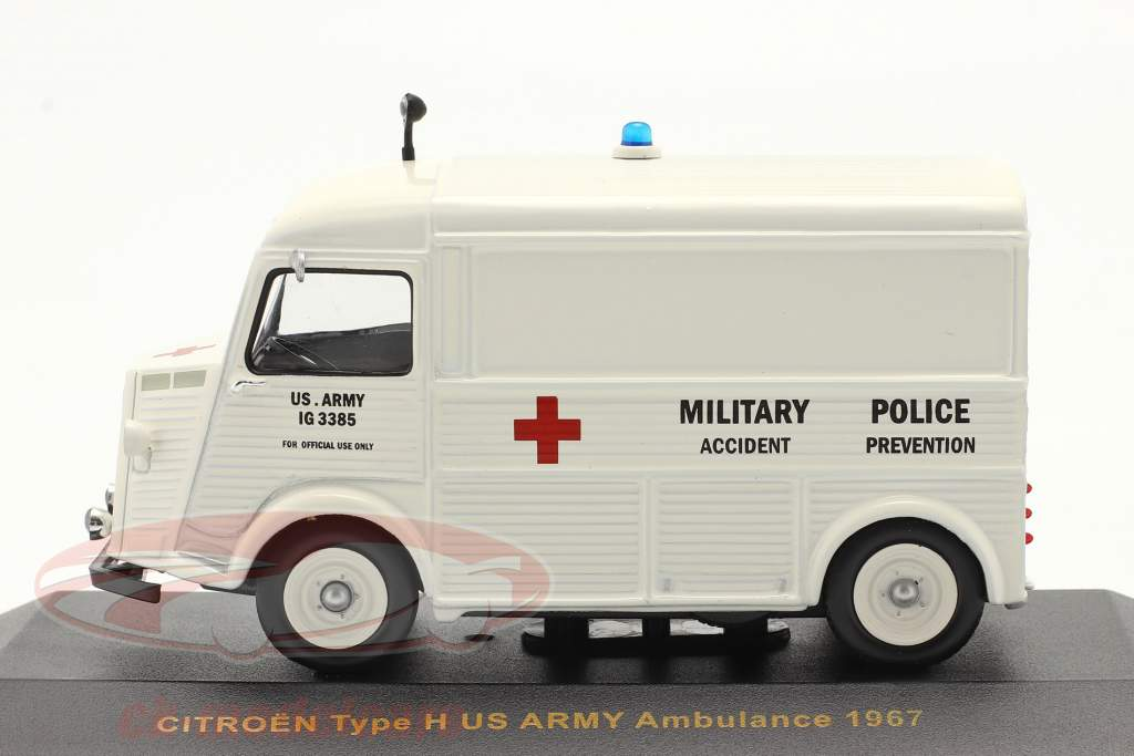 Citroën Tipo H Ano 1967 os EUA Exército Ambulance 1:43 Ixo