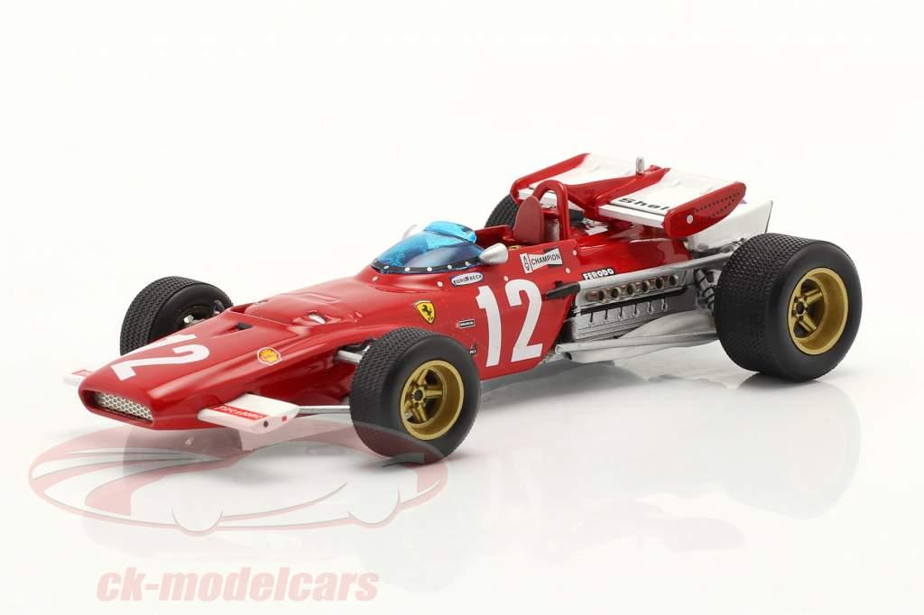 Jacky Ickx Ferrari 312B #12 Vencedora austríaco GP Fórmula 1 1970 1:43 Ixo