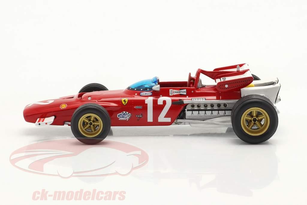 Jacky Ickx Ferrari 312B #12 Gagnant autrichien GP formule 1 1970 1:43 Ixo