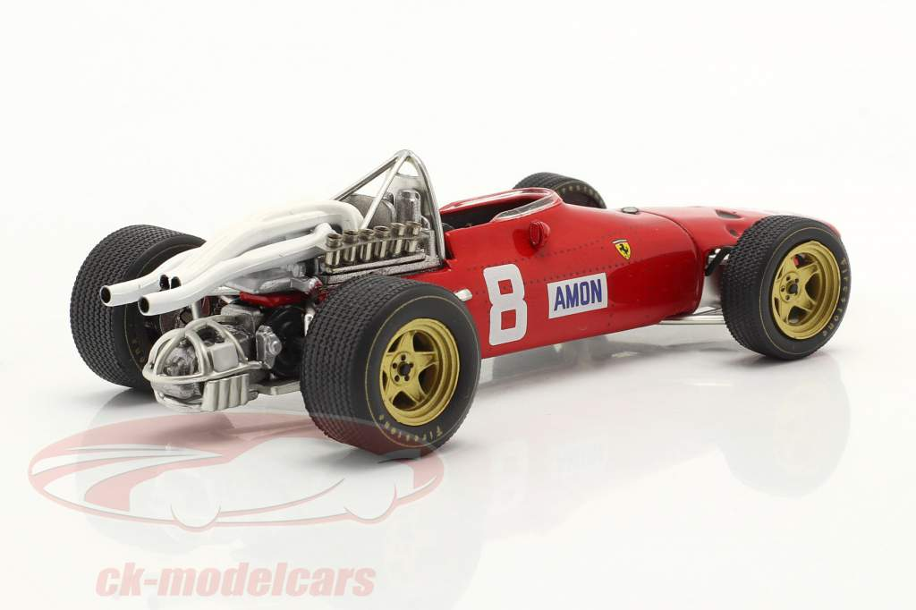 Chris Amon Ferrari 312 #8 Nürburgring GP Formula 1 1967 1:43 Ixo