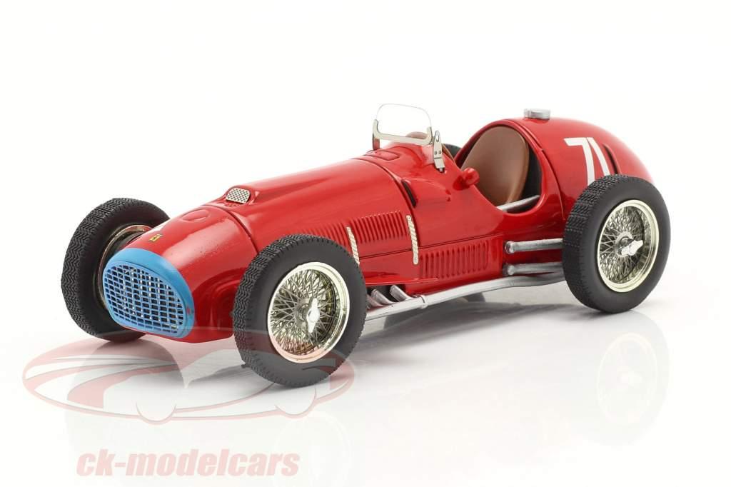 A. Ascari Ferrari 375 Alemán GP Nürburgring Fórmula 1 1951 1:43 Ixo