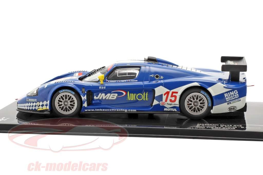 Maserati MC12 #15 Aucott, Ferte, Daoudi Spa Fia GT 2008 1:43 Ixo